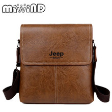 MIWIND Genuine Leather Men's Shoulder Bags Vintage Flap Men Cross Body Bag Casual Business Cowhide Man Messenger Bags