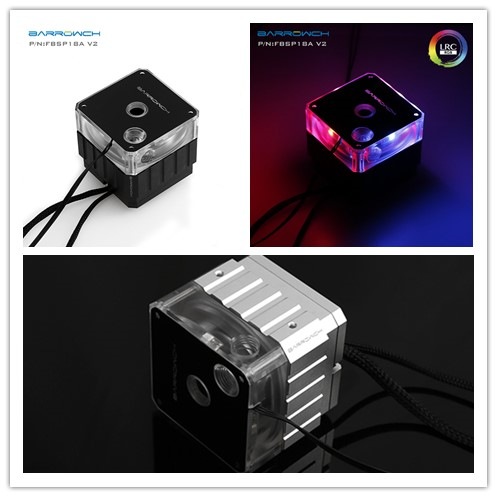 FBSP18A V2 Barrow watercooling pump set 18w PWM speed control 12v water cooling 2 0 lighting