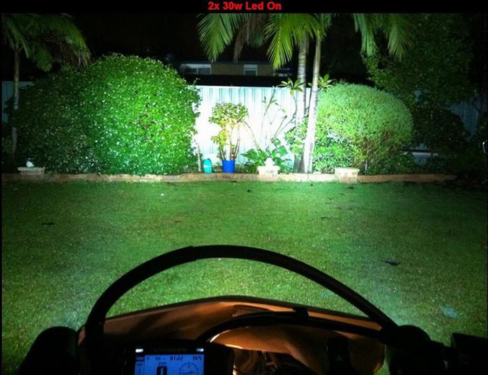 30W 12V 3000lm U2 cree motorcycle headlight 18