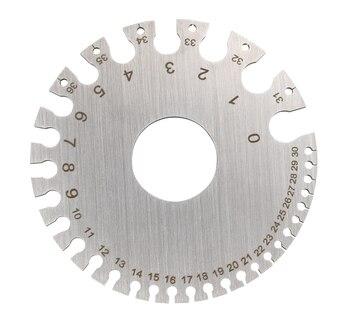 Welding tools Stainless Steel Wire Gauge Weld Diameter Gauge Welding Inspection Inch Measuring Gauges fpr Measurement Tool недорого