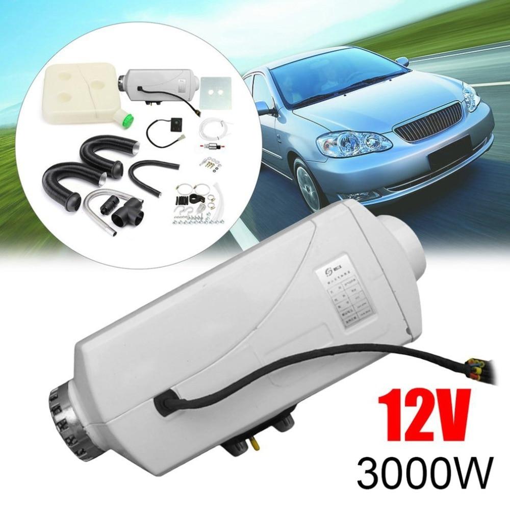 12 В в 3кВт парковочный дизельный воздушный обогреватель одинарный переключатель отверстия с глушителем универсальный для бака вентиляцион