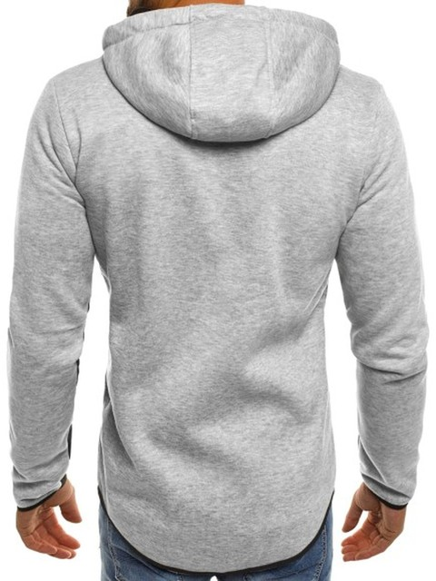 ZOGAA Brand Autumn Fashion Coat Men Zipper hooded Jackets and Coats Casual Cotton Hoodies Sweatshirts For Man Clothes 2018 2