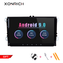 2 Din Android 9.0 Car Multimedia For Amarok Volksagen VW Passat B6 golf 5 6 Skoda Octavia Superb Seat Leon Navigation Radio