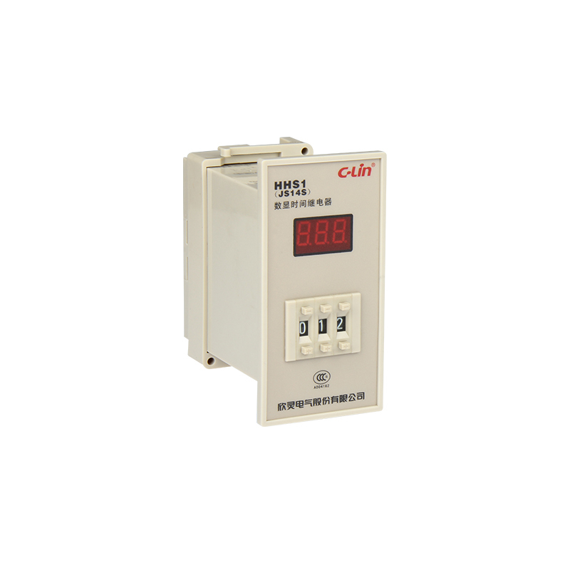 JS14S Number Show Time Relay Three Digital Adjust Two Group Electricity Time Delay Zero Suspend jss20 48ams number show time relay 0 01s 9990h time base adjustable ac220v goods in stock