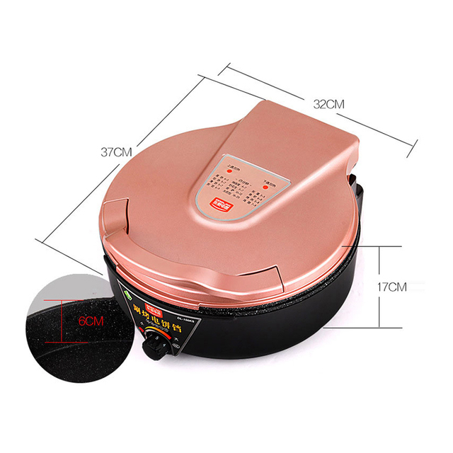 Household Electric Multi Cooker Grills Oven Cooker Hot Pot Multi-functional Smokeless Electric Roast Double Heating DL-100KS 5