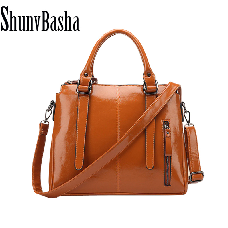 Women Vintage Handbag 2015 New Fashion Women Messenger Bags Shoulder Bag Hot Crossbody Bag Oil Wax Leather Tote Bolsas