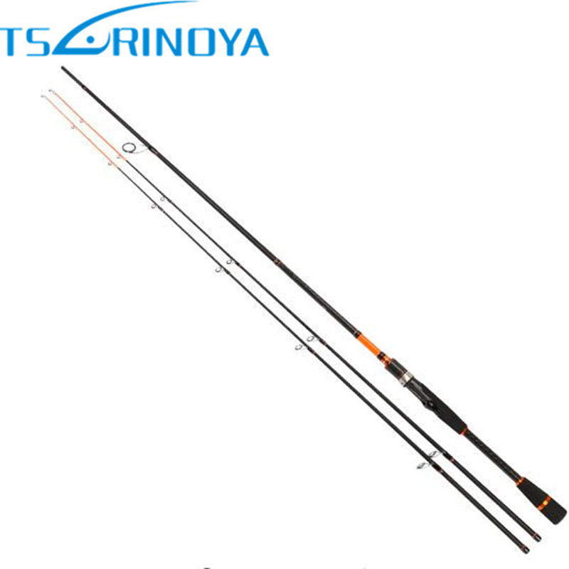 TSURINOYA JOY TOGETHER 2.1m/2.4m Spinning Fishing Rod 2 Tips(M/ML) Carbon Canne A Peche Olta Spinning Rod Fishing Tackle Feeder trulinoya 2 1m 7 0 soft carbon spinning fishing rod with two tips m mh power fishing tackle