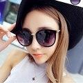 Мода Multicolour зеркало очки солнцезащитные очки женщин старинные солнцезащитных очков женщин модной Feminino солнцезащитные очки