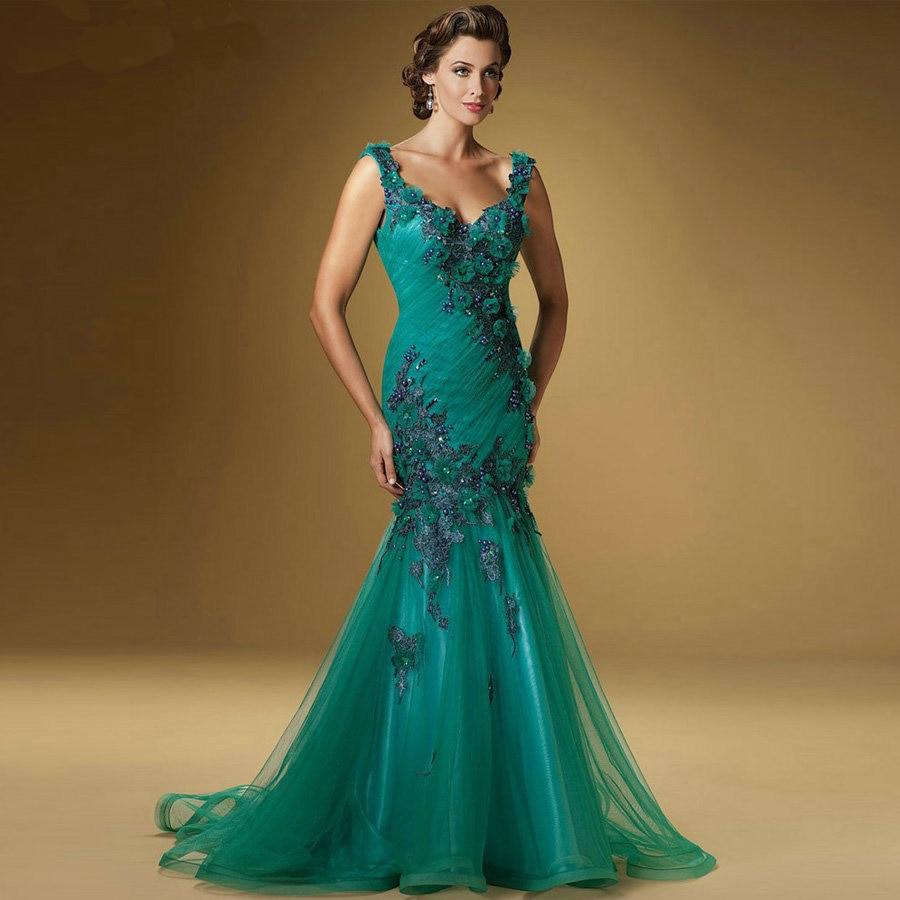 Popular Emerald Green Mother of The Bride Dresses