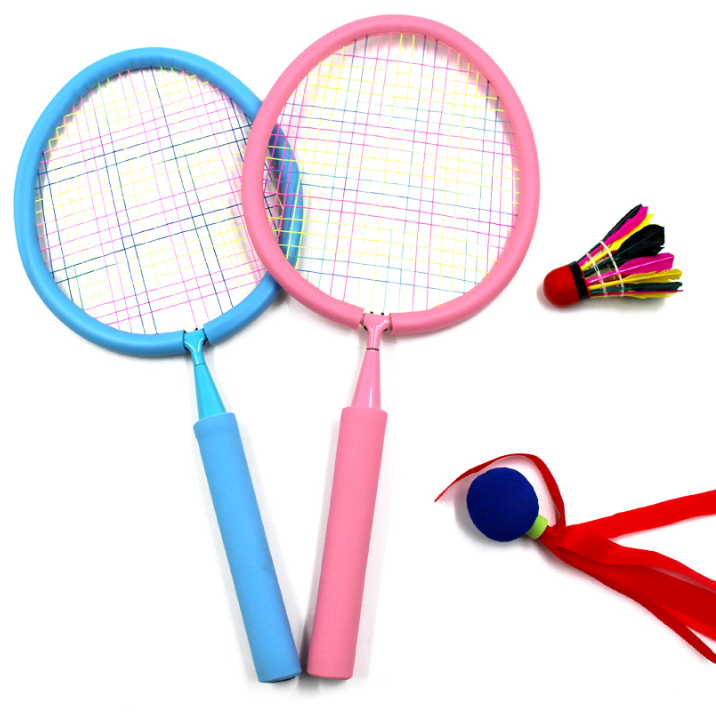 Junior Children's Badminton Racket Set Double Patted Badminton Rackets 3-12 Year Old Sports Birthday Gift 2018
