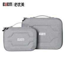 """Сумка BUBM для внешнего аккумулятора, аксессуары для цифрового приема, EVA чехол для 9,"""" ipad Кабельный органайзер, Портативная сумка для USB"""