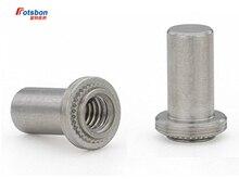 3000pcs B-632-1/B-632-2 Self-clinching Blind Fasteners Zinc Plated Carbon Steel Nuts PEM Standard Factory Wholesale