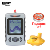 Russian Menu Language LUCKY Wireless Sonar Sensor River Lake Sea Bed Live Update Contour 131ft 40M
