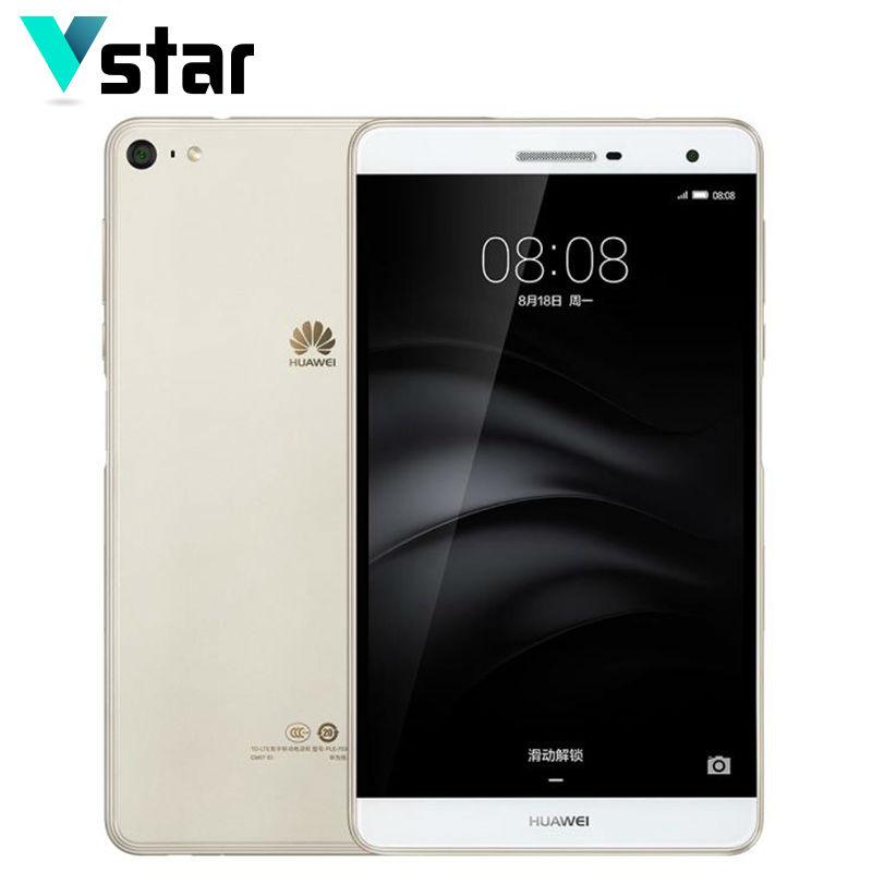 """Prix pour Huawei mediapad m2 lite ple-703l 7.0 """"4G LTE Téléphone Appel Tablet Snapdragon 615 Octa Core Côté D'empreintes Digitales 3 GB RAM 32 GB ROM 13.0MP"""