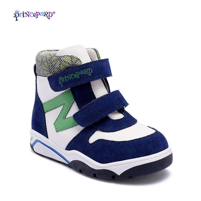 4d52ceeefc placeholder Princepard 2017 New Model Autumn Winter Kids Casual Boots  Children baby green Orthopedic Shoes kids boys
