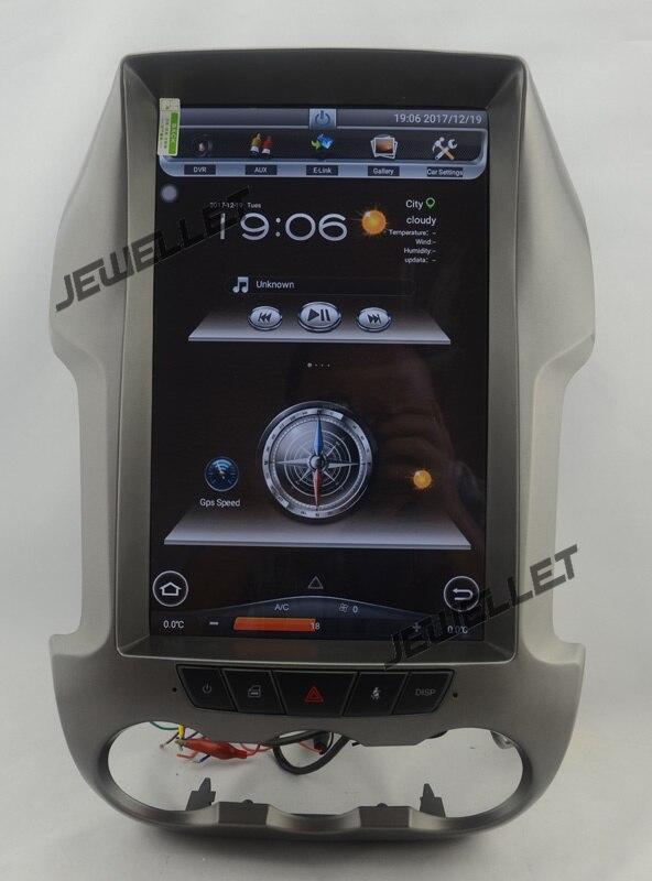 12.1 tesla style vertical écran android 5.1 Quad core De Voiture GPS radio Navigation pour ford Ranger F250 2011- 2014