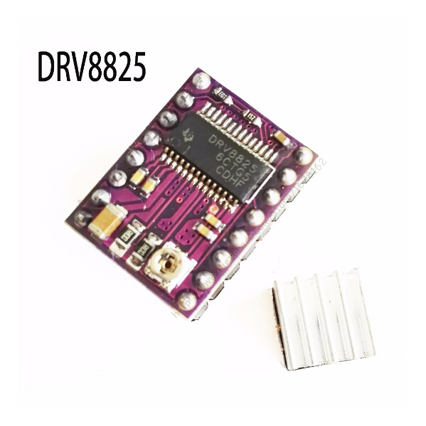 5pcs/lot. StepStick DRV8825 Stepper Motor Driver Carrier Reprap 4-layer PCB RAMPS replace A4988 for 3D Printer феликс икономакис управляй своей жизнью с помощью нлп