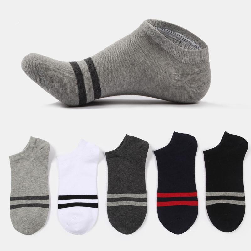 Fashion Men Socks comfortable Cotton  Invisible Mens Ankle Socks Summer Breathable Compresion Socks Thin Boat Sock