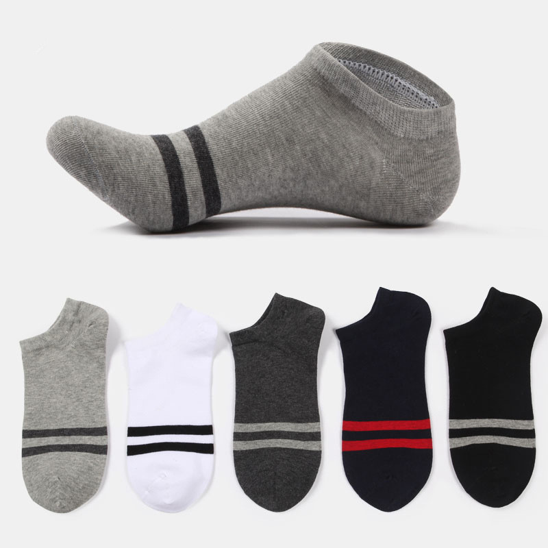 Fashion Men   Socks   comfortable Cotton Invisible Men's Ankle   Socks   Summer Breathable Compresion   Socks   Thin Boat   Sock