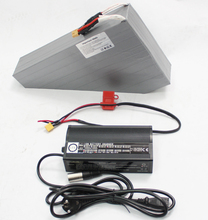 36V 34.8AH Electric Bicycle Customized Triangle Li-ion Battery For NCR18650PF Cell With Free BMS and 5A Charger