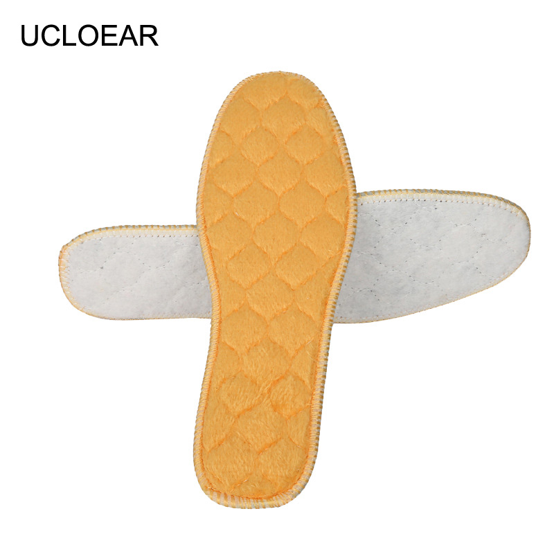 UCLOEAR Warm Heated Insole Imitation Wool Breathable Comfortable Insoles Pad Soles For Shoes Winter Thick Pad Warm Insoles xd094