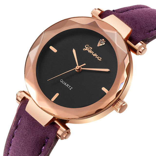 Women's Watches 2018 Top Brand Fashion Leather Wrist Watch Women Watches Ladies Watch Women Clock reloj mujer zegarek damski