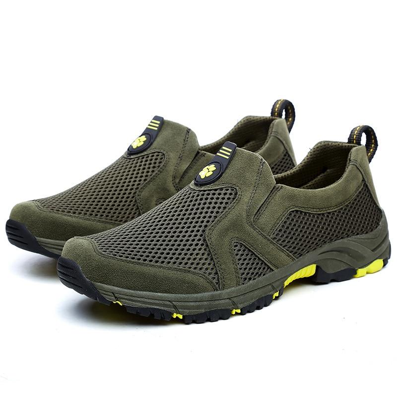 Hommes Gris Sortie Décontracté Classique Mâle Chaussures vert Sur Glissement Camouflage De 4wfqr4z