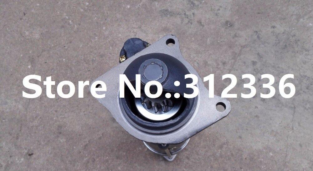 Купить с кэшбэком Fast Shipping starting motor QDJ265F 24V 5.5KW  Weichai R4105 R6105 diesel engine starter motor a suit for chinese brand