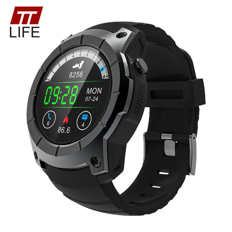 TTLIFE GPS Tracker S958 Smart Watch Waterproof Pedometer Music Controller Heart Rate Monitor Watch Men Women For IOS Android ...