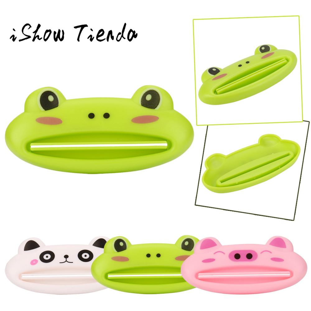 2017 New Fashion Cartoon Easy Squeezer Toothpaste HOT Bathroom Home Tube Rolling Holder Squeezer Easy Cartoon Toothpaste #30