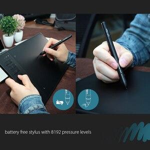 Image 4 - XP Pen Star 06 لوح رسم الرسومات مع 8192 مستوى حساسية الضغط على حد سواء تصميم الوضع السلكية واللاسلكية مع مفتاح الأسطوانة