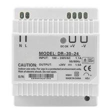 цена на DR-30-24 30W Single Output 24V Din-Rail Power Supply AC/DC Switching Power Supply Switch Power Supply Module