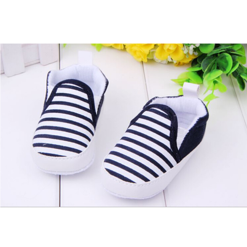 fashion striped baby girl boy shoes toddler infant newborn shoes baby moccasin shoes Footwear for newborns