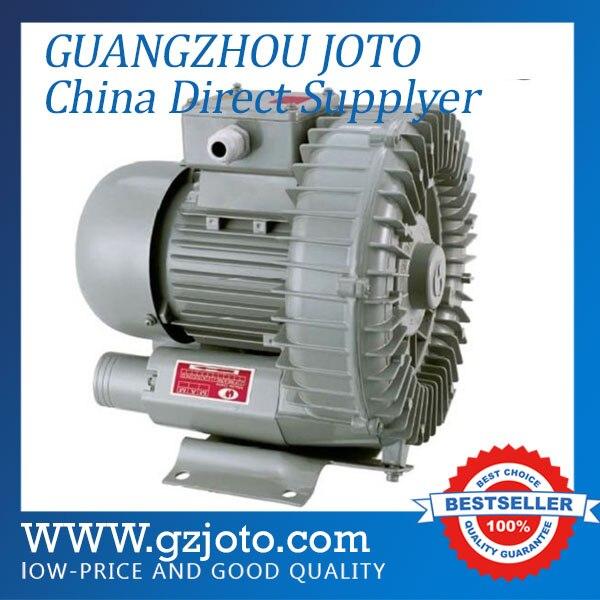 HG-7500 grande poudre 7.5kw Air pompe à vide 630M3/H canal latéral ventilateur grand anneau ventilateur aérateur pour étangs poisson pompe à oxygène