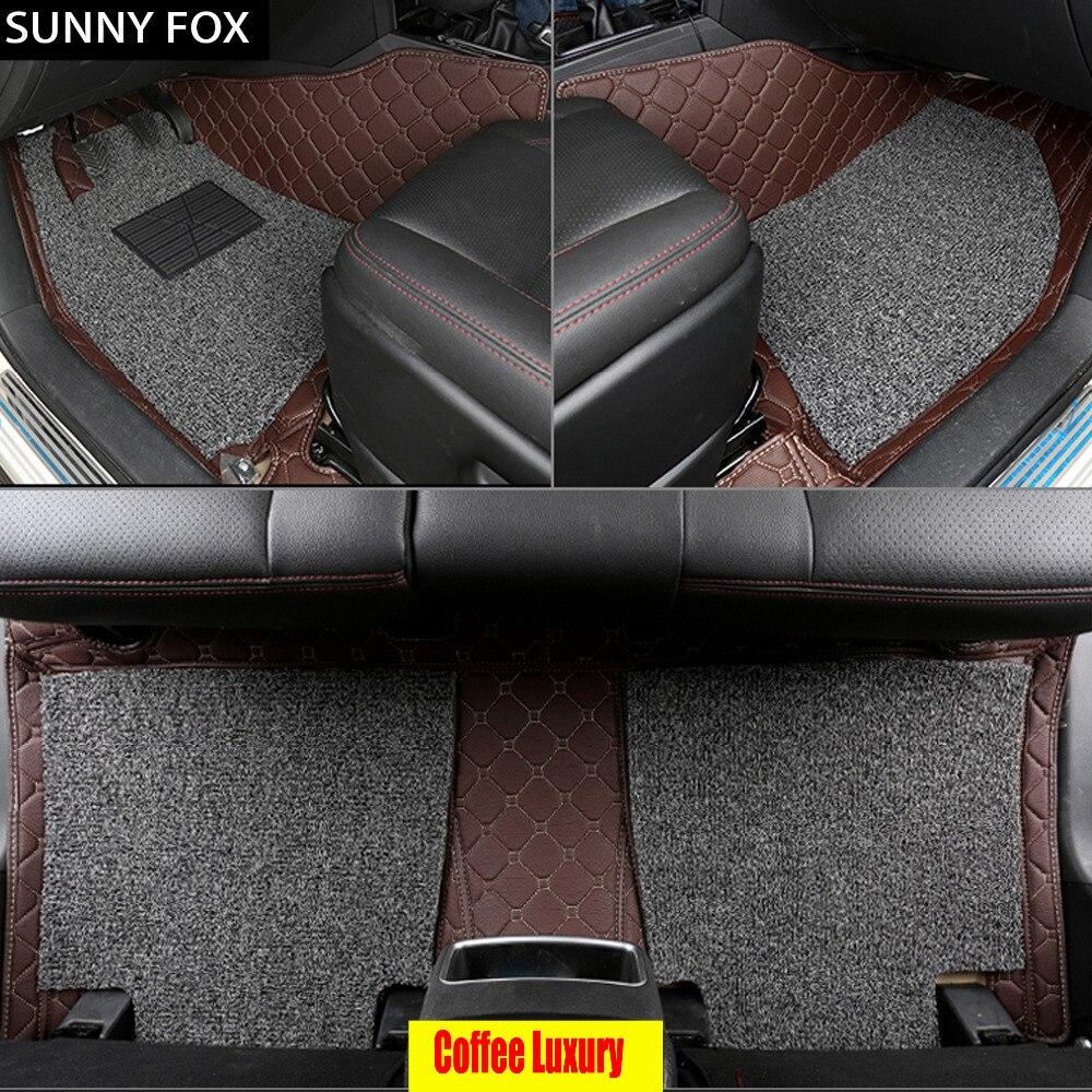 Sunny FOX tapis de sol de voiture pour Subaru Forester Legacy Outback Tribeca 5D revêtement de sol de tapis résistant à tous les temps