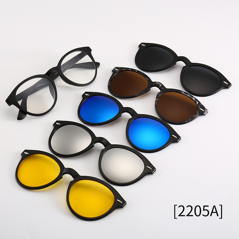 a7a27d5fda Detail Feedback Questions about 2018 Include Frame Polarized Clip On Sunglasses  Men TR90 Custom Prescription Lenses Magnetic Clips Night Glasses Drive ...