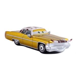 Image 2 - Samochody disney pixar 3 samochody 2 Tex Dinoco Metal odlewana zabawka samochód 1:55 zygzak mcqueen luźne Brand New w magazynie bezpłatna wysyłka