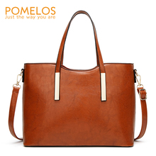 POMELOS Women Bag New Arrival PU Leather Women Handbags Messenger Shoulder Crossbody Bags For Women Designer Ladies Tote Bag