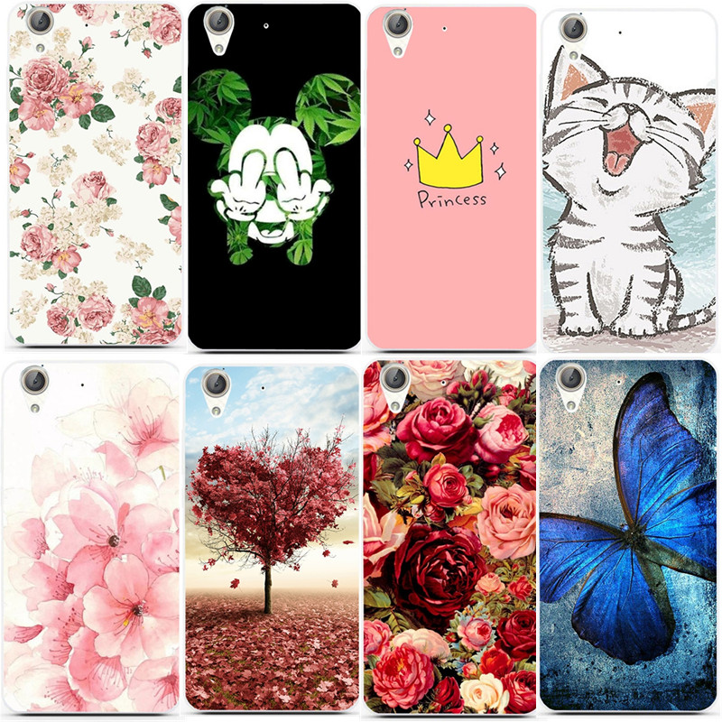 Cute Cat Flower Patterns Slim TPU Phone Case Cover For Huawei Y6 II Y6ii Y6 2 5.5 Inch Soft Silicon Back Shell Phone Bags Funda