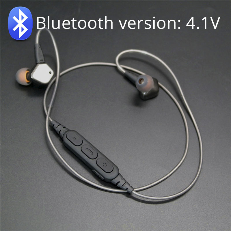 Replacement Bluetooth Earphone Cable Wire Earphone Wire For DIY Replace Headphone Cable Bluetooth Headphone Audio Cable For IE80