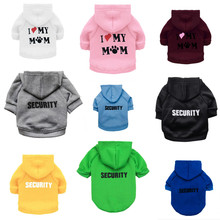 Clothes for Dog Pet Clothes for Small Dog Coat Security Clothing for Large Dogs Jacket Chihuahua Clothes Hoodies Pet Products 48(China)