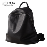 2018 Spring Genuine Leather Backpack Women S Ellipse Bags European And American Style Lady Large Capacity