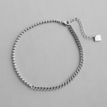 Anklet Bracelet Foot-Jewelry 100%925-Sterling-Silver Chain Women on Vintage for The-Leg