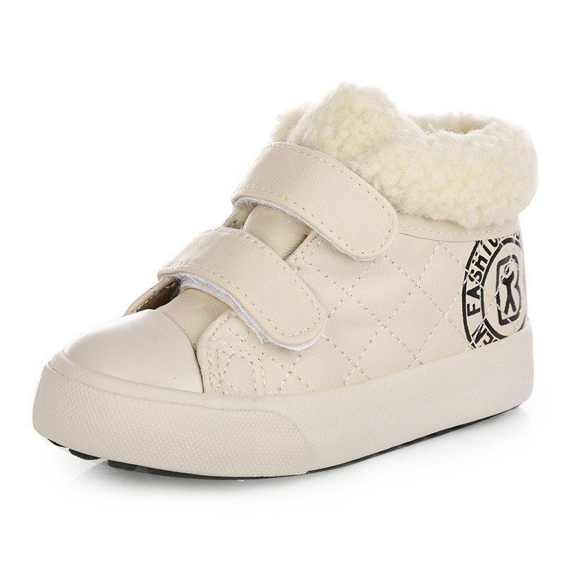 Inventory Clearance Low Price 2017 Winter Kids Shoes Children Boots Boy Winter Shoes Girls Shoes Plus Velvet Boots Low Price