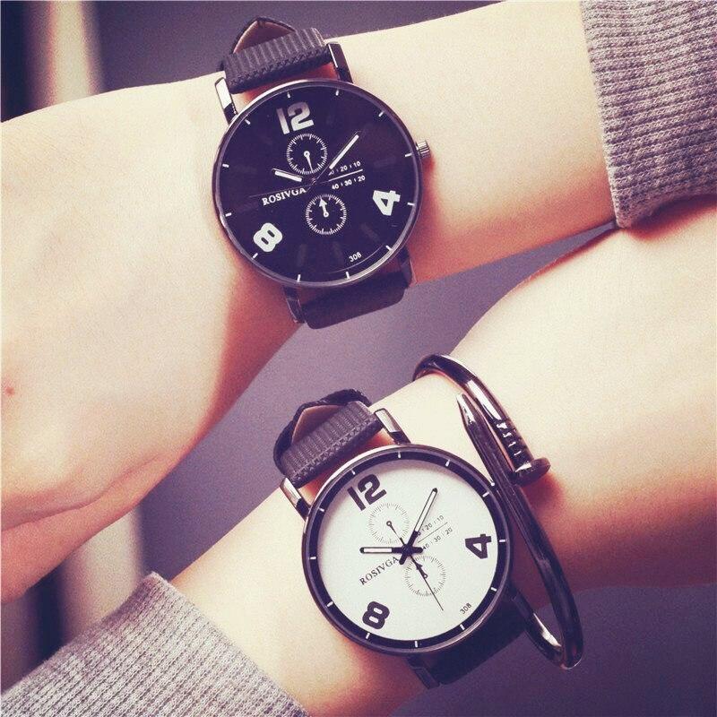 2016 New Fashion Quartz Watch Men Women Watches Personality Wristwatch Female Clock Montre Femme Relogio Feminino