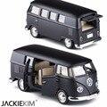Rmz 1:36 coche de juguete de simulación de modelos de furgoneta volkswagen cars toys regalo tire hacia atrás los niños toys/brinquedos freeshipping