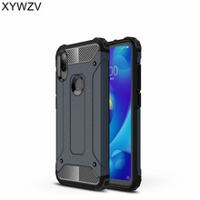 For Cover Xiaomi Mi Play Case Shockproof Armor Rubber Hard PC Phone Back Shell^