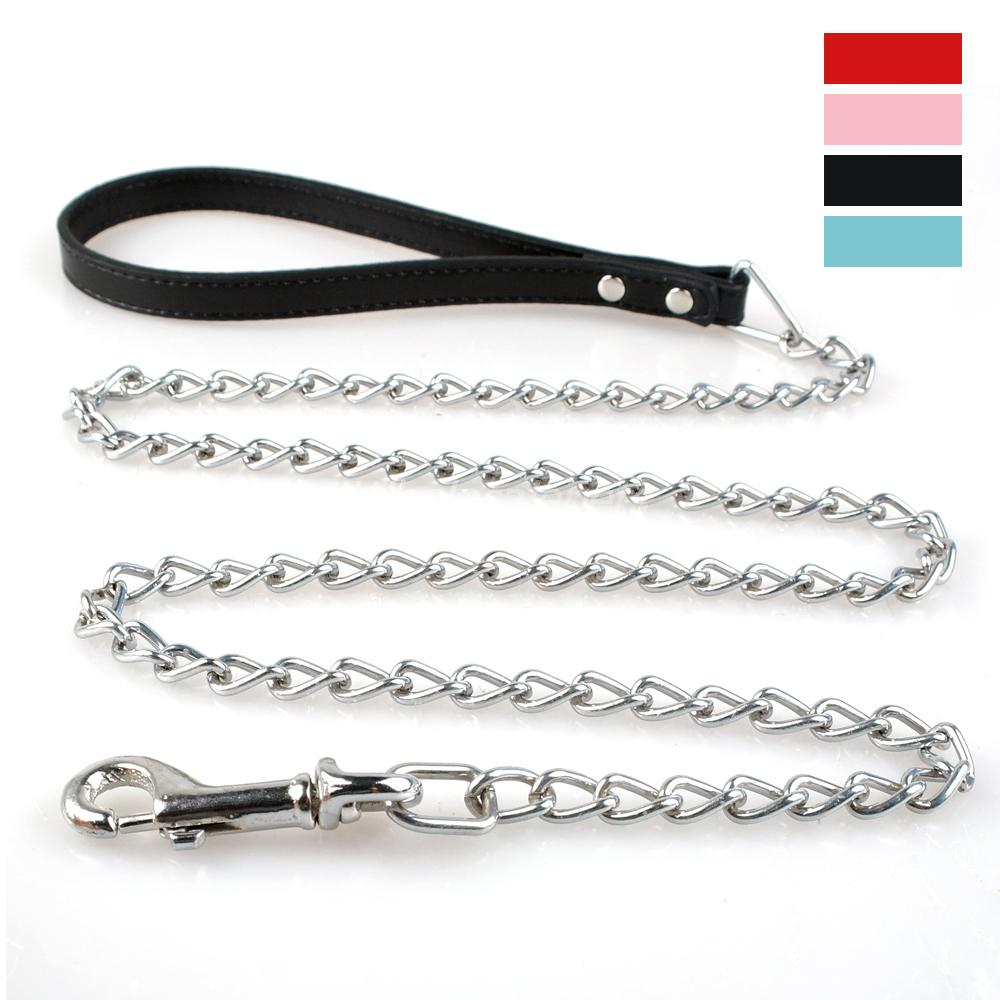 Aliexpress.com : Buy Dog Pet Leash Metal Chain Leads With ...