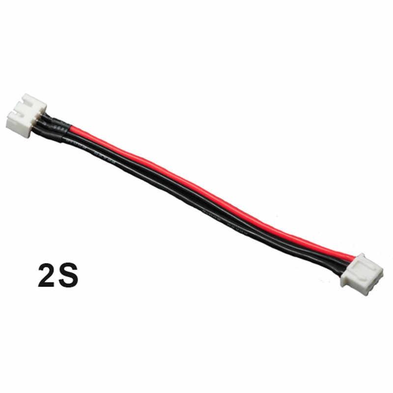 JST-XH 2 S 3 S 4S 5s 6 S LiPo балансный кабель для зарядки провода питания 10 см для радиоуправляемых дронов FPV Квадрокоптер аккумуляторная батарея Lipo DIY игрушка
