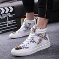 2016 Luxury Brand Cool Man Shoes Casual Flat Outdoors Fahion High Top Multi Colors Lace-up Superstar Man Trainer Walking Shoes